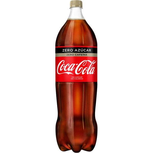 Cocacola 2l zero azucar zero cafeina
