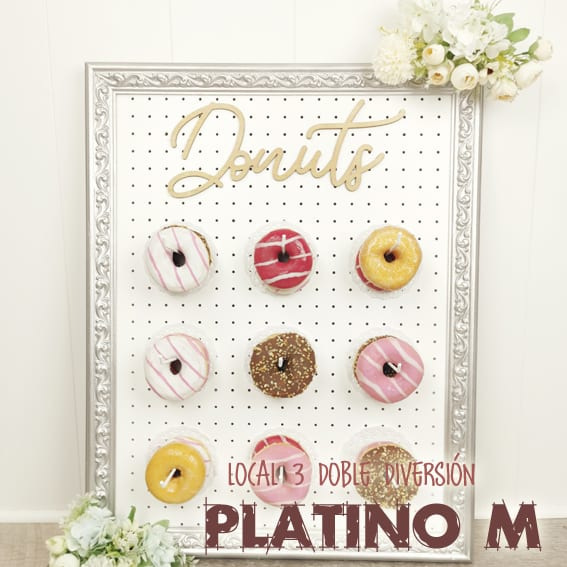 Donut bar Platino